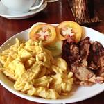 Breakfast at Saffron Espresso Caffe, Khem Kong Rd, Luang Prabang, Laos thumbnail
