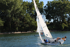 IMG_0495 (Foundry216) Tags: sailing sailor lake erie sail c420 water sports thisiscle cleveland