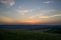 Watching the sunset from Butser Hill. Just beautiful <3 (Jenny.Lawrence) Tags: sunset sky landscape clouds sun nature sony sonyalpha sonya7 a7 night nightphotography evening lowlight 35mm