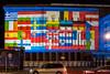 FOL 2017 - Bundesfinanzministerium (Stefan's Gartenbahn) Tags: berlin berliner brandenburger tor 2017 fol festival lights leuchtet sehenswürdigkeit mitte city illumination 3d videomapping youtube personen gebäude pianosee potsdamer platz monoliths monolith mauerstück bundesfinanzministeriunm