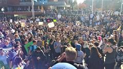 Climage Change Protest (Wolfram Burner) Tags: uoregon climate change protest