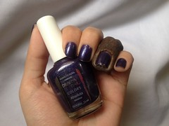 Absoluta (Derma Nail) (Daniela nailwear) Tags: absoluta dermanail roxo shimmer esmaltes troquinha mãofeita