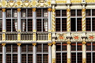 Façades de la Grand-Place de Bruxelles (détails)