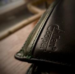My magic pouch, my ATM machine, its my Dad's Wallet.. :-D #sidelit (rashmit75) Tags: sidelight macromondays macro sidelit black
