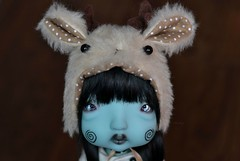 Oh Deer (Mientsje) Tags: nefer kane circus artist bjd ball jointed doll yosd green humpty dumpty