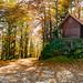 Cabin near peak of Mirna gora
