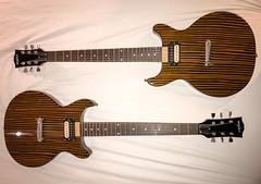 Tim & Iain's Boult guitars (Terekhova) Tags: guitar les paul jnr zebrawood boult