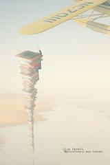 the person who nearly  caught a plane (olgavareli) Tags: olga vareli book plane beach surreal tale magic realism