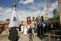 25. Первая литургия в с. Адамовка