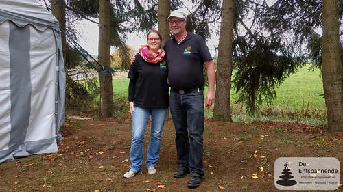 Eifelstopp: Sandra und Peter Lauer