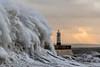Porthcawl Lighthouse (geraintparry) Tags: south wales southwales geraint parry geraintparry sigma sigma105 150600 105mm d500 nikond500 porthcawl lighthouse storm brian sea coast wave waves windy wind sky water
