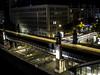Balcony view of the U on the corner of Bülowstraße & Potsdamer Straße (AdamGreenwood) Tags: berlin longexposure potsdamerstrase bülowstrase novumhotel nighttraffic