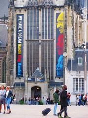 """""""We Have A Dream"""" (streamer020nl) Tags: gandhi mandela king dream nieuwekerk dam church exhibition tentoonstelling amsterdam 2017 200917 holland nederland netherlands niederlande paysbas"""