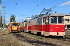 2017-06-21, Kyiv, Depo Podilske (Fototak) Tags: tram strassenbahn tatra atw kyiv ukraine 5978 av6 av4