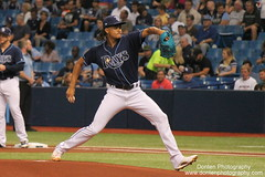Chris Archer 093017 (Donten Photography) Tags: florida stpetersburgflorida tropicanafield majorleaguebaseball americanleague tampabayrays