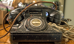 memories of Dads phone (Dotsy McCurly) Tags: old antique retro phone telephone nodial dad memories canoneos80d efs35mmf28macroisstm nj newjersey smileonsaturday objectsofsentimentalvalue