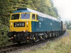 1566 at Berwyn (WelshHatter2000) Tags: dieselweekend llangollenrailway berwyn 1566 brushtype4 class47 47449