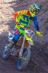 Suzuki In The Shadows (John Kocijanski) Tags: motorcycle motocross people race sport canon70300mmllens canon7d dirtbike