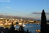 View over Split in the Adriatic coast