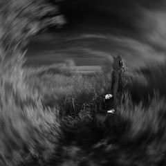 recollection (old&timer) Tags: background infrared blackwhite filtereffect composite conceptual song4u oldtimer imagery digitalart laszlolocsei