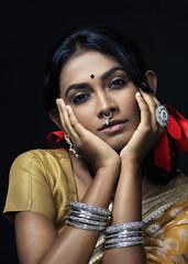 Girl Next Door. Bangladesh (Siddiqui, sayeed) Tags: saree hairribbon bangles nosering bangladesh