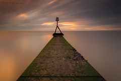 A Path Less Trodden (Pureo) Tags: bridlington eastriding yorkshire groyne path seascape sea seawood seaweed kelp northsea seaside sand clouds sky sunrise longexposure le canon canon6d leefilters lee dawn littlestopper l