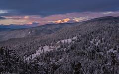 Autumn falls to winter (Bill Bowman) Tags: sunrise jamespeak parrypeak southernrockymountains colorado frontrange winter snow