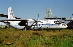 CCCP-46746 - Monino Museum 20.08.2001 (Jakob_DK) Tags: an24 antonov antonov24 antonovan24 monino centralrussianairforcemuseum afl aeroflot 2001