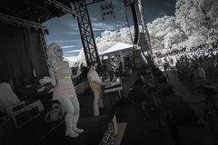 Roots N Blues N BBQ Infrared (Notley Hawkins) Tags: httpwwwnotleyhawkinscom notleyhawkinsphotography notley notleyhawkins 10thavenue clouds rural 2017 september ir infrared park boonecountymissouri stephenslakepark the2017rootsnbluesnbbqfestival rootsnblues rootsnbluesnbbq dancers dancer gogodancer gogo hellagogo
