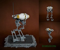 Ma.Ktober - Harkrank (adde51) Tags: adde51 lego moc mak maktober harkrank foitsop robot drone