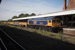 66773 at Bury St Edmunds (tibshelf) Tags: 66773 class66 gbrf burystedmunds engineerstrains