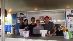 Working the Alton Expo to Raise Funds for Hurricane Relief