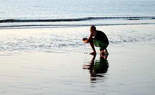 Un cuidadoso fotógrafo / Ffotograffydd gofalus