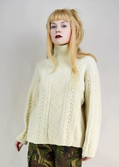 Blonde sexy girl in fisherman wool aransweater (Mytwist) Tags: grunge cream chunky knit fisherman jumper micromall sweatergirl outfit turtleneck lady sexy sexygirl knitwear slave submissive rollneck retro rollerneck craft bulky handgestrickt handknitted modern mytwist knitting love lovely fashion fuzzy female fishermansweater cozy classic cables casual design dicipline thick textured exclusive expensive white