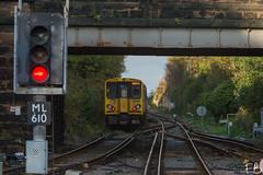 Merseyrail 507 032 (frisiabonn) Tags: 507032 507 wirral merseyside uk britain station brighton new rail railway merseyrail electricmultipleunit emu bridge train
