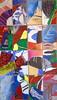 Collage, by Maria Lucia, Ligia e hj - DSC01956 (Dona Minúcia) Tags: art drawing painting collage mixedtechnique humanfigure vitral arte desenho pintura colagem figurahumana abstract abstrato collection coleção