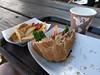 On trail food (s__i) Tags: johnmuirtrail tuolumnemeadows tuolumnemeadowsgrill burger yosemitenationalpark yosemite