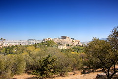 Acropolis from Philopappos Hill (ika_pol) Tags: athens acropolis greece ancientgreece ancientruins ancient antiquity geotagged