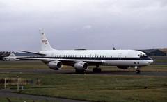 N717NA. NASA Douglas DC8-72 (Ayronautica) Tags: nationalaeronauticsandspaceadministration douglasdc872 n717na dc87 nasa ayronautica aviation prestwick egpk pik scanned airliner