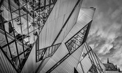 ROM in Context (otterman51) Tags: abstract artgallery building canada ontario ortbaldauf rom art clasic modern ortbaldaufcom outdoors photography streetphotography toronto