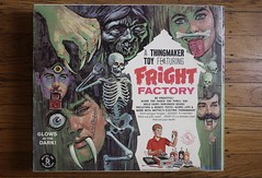 Fright Factory Box Front ( Mattel 1964 ) (Donald Deveau) Tags: mattel frightfactory thingmaker plastigoop vintagetoy toys monsters