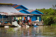 Tonle Sap, Cambodia (Aicbon) Tags: verde tonlesap mekong river lake lago rio riu agua water people gente pueblo poblado casas colores colours aldea flotante cambodja camboya cambodia siemriep asia asiatic southeastasian sudesteasiatico sudestasiàtic indochina indoxina vietnamita khmer jemer cambodge cambogia camboja jiǎnpǔzhài 柬埔寨 kamboçya kambodia 캄보디아 kamboḍiyā कम्बोडिया kambodiya kambodja kambodscha kambodsja kambodža камбоджа kambodża камбоџа kambodzsa kamboja καμπότζη kampuchea kemboja կամբոդիա