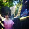 hairdo (Bim Bom) Tags: reflection portrait girl smile amy openairmuseum campus liège