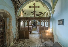 Jaws of Heaven (Paul J Photography) Tags: urbex abandoned church architecture decay