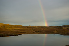 Two suns ready to shine just for you (OR_U) Tags: 2017 oru iceland bjork rainbow mirror reflection lanndscape lake green sky sunlight