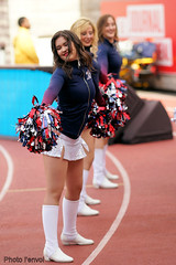 Cheerleading Alouettes (photolenvol) Tags: sport lcf football montreal alouette cheers cheerleaders cheerleading