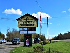 Thornloe Cheese Signage (Gerald (Wayne) Prout) Tags: thornloecheeseoutletstore highway11north townshipofharley districtoftimiskaming ontario northeastern canada prout geraldwayneprout canon canonpowershotsx60hs powershot sx60 hs digital camera photographed photography scenery building signage thornloe cheese outlet factory outletstore store highway11 highway district timiskaming northernontario township harley