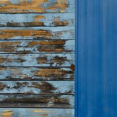 (jtr27) Tags: dscf2834l jtr27 fuji fujifilm fujinon xtrans xt20 blue square abstract building peelingpaint maine xf 50mm f2 f20 wr xf50mmf2rwr