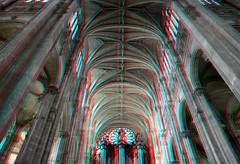 Sint-Eustache Paris 3D (wim hoppenbrouwers) Tags: sinteustache paris 3d anaglyph stereo redcyan frenchgothic church