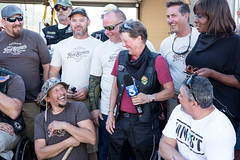 0.a Vets and Gayle at Fire station - photo by Jason Goodrich
